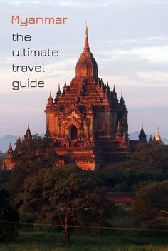 Myanmar is the prettiest gem of Southeast Asia, a country with a sad political history, monks in orange robes and unforgettable sunsets.