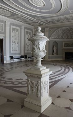 Entrance Hall: Osterley Park House by curry15, via Flickr