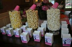 Ready to pop popcorn boxes