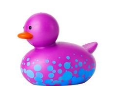 Boon Odd Duck Jane We got this as a gift, while it is expensive for a duck toy IMO, I really do love the fact that no water can get inside of it which means no mold growth. Eco Kids, Duck Toy, Bath Toys, Baby Games, Baby Store, Rubber Duck, Toddler Toys, Little Ones, Purple