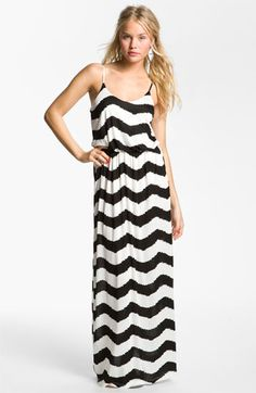 Lush Knit Maxi Dress (Juniors) from Nordstrom.com - I like this!!!