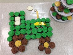 John Deere baby shower - boy