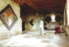 Interior of the Old Kirk, Castle Menzies
