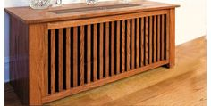 Inexpensive Home Radiator Covers | The Wooden Radiator Cabinet Company | Custom wooden covers for your ...