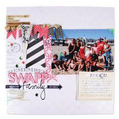Swapp Family Layout by Heidi Swapp