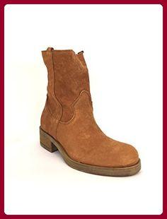 21eab37443a8 Divine Follie, Damen Stiefel   Stiefeletten  , braun - Leder - Größe  38 EU  - Stiefel für frauen ( Partner-Link)