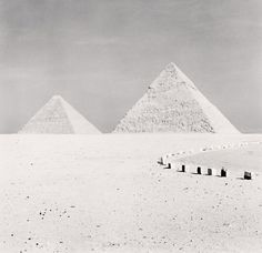 Giza Pyramids, Study 2, Cairo, Egypt, 2009 -repinned by LA County studio photographer http://LinneaLenkus.com  #fineart