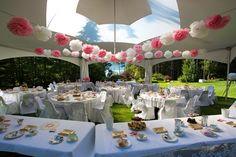 pink wedding decor- beautiful wedding tent