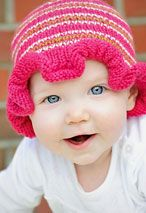 Baby hats!  I want my girl to have hundreds of em!