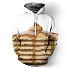 "belovedwear® presents the #pancakestack Hoodie. This ""all over"" print crewneck…"