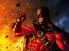 Red Robin by *Cris-Art on deviantART