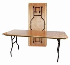 £37.08 96x70cm   American Style Trestle Folding Banqueting Table