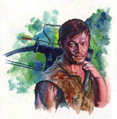 Walking Dead: Daryl 2 Comic Art