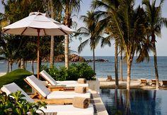 Pool, St. Regis Punta Mita, Punta Mita, Mexico (Courtesy of St. Regis Punta Mita) >> I would like to visit there one day