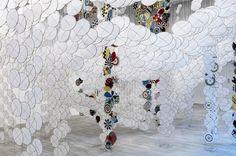 JACOB HASHIMOTO: GAS GIANT Fondazione Querini Stampalia, Venezia 2013