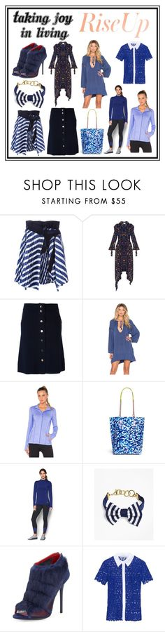"""""""Taking Joy In Living..."""" by cate-jennifer ❤ liked on Polyvore featuring Sacai, Vetements, Allude, Faithfull, Lorna Jane, Sophia Webster, Under Armour, Brooks Brothers, Charles Jourdan and Mary Katrantzou"""