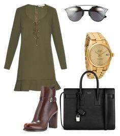 """""""Sans titre #14"""" by kimlong ❤ liked on Polyvore featuring Emilio Pucci, Prada, Rolex, Christian Dior, Yves Saint Laurent, women's clothing, women, female, woman and misses"""