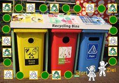 Spiel: Abfall und Recycling