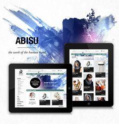 Abisu by Marcin Wisniewski, via Behance
