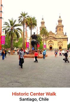Santiago's beautiful historical center is located right in the downtown area. It is where you will find some of its most important sites of historical interest as well as museums, cultural centers and financial and government buildings.