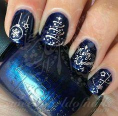 Imagen de nails, christmas, and fashion