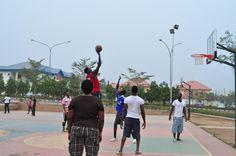 NIGERIA | Abuja, Playing basketball