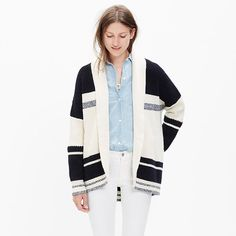 27 Cozy Cardigans to Celebrate Sweater Weather via Brit + Co.