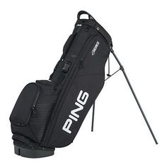 New Ping 2017 4-Series Golf Stand Bag (Black)