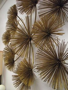 Love this brass wallhanging