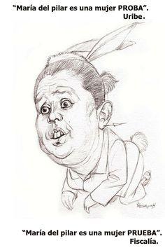 Caricatures, Artists, Women