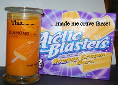 Who wouldn't want their home to smell like Oranges and Vanilla every single day? Well now you can! :-D