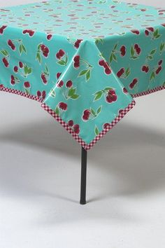 Square Oilcloth Tablecloth – Freckled Sage