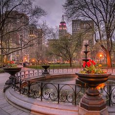 Madison Square Park by Noel Y.C. @nyclovesnyc by newyorkcityfeelings.com - The Best Photos and Videos of New York City including the Statue of Liberty Brooklyn Bridge Central Park Empire State Building Chrysler Building and other popular New York places and attractions.