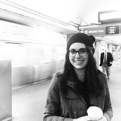 {Urban Adventures} When you live in a town of 500 people and quite a few more cows, riding a subway or the L in Chicago is an adventure indeed! ❤This is my daughter and the Trek Beanie that started it all. The story: She wanted a double pom pom hat and researched until she found a stitch pattern she liked. I adapted the hat pattern which was written for bulky yarn and knit it for her in worsted weight and we added two poms, just as she wished. I loved the resulting texture and fit of this…