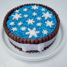 40 ideias de bolos do Frozen – Blog Inspire sua Festa