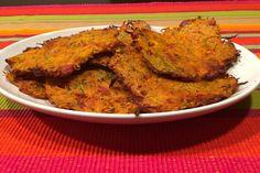 Dýňovo-cuketové placky - Our Lovely Cooking Halloumi, Tahini, Tandoori Chicken, Ricotta, Mozzarella, Hummus, Low Carb, Meat, Cooking