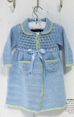 In our Giveaways you can this week win the yarn and pattern to make this adorable coat for baby, featured in the first issue of Made By Me. All you need to do is share the picture from our Facebook- page with your friends. Read more here: http://www.mbymmagazine.com/share
