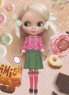 Kenner Blythe 22cm Doll Classic Dolly Dress & socks set