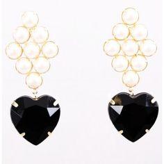 Ludora Heart Earrings