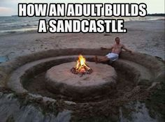Except I would dig in the middle for the fire but leave room for a circle table