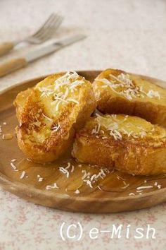 【ココナッツオイル】ココナッツ風味のフレンチトースト|レシピブログ