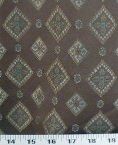 Primrose Cocoa | Online Discount Drapery Fabrics and Upholstery Fabric Superstore!