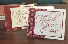 Christmas thank you cards by NicholeC - Cards and Paper Crafts at Splitcoaststampers