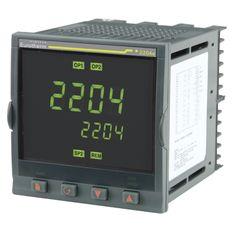 Controlador 2204E - Controladores de Temperatura o Procesos Versátiles y Estables - Ajuste Automático con Inhibición de Sobreimpulsos - Salidas de Calentamiento y Enfriamiento - Hardware Modular - Display Totalmente Personalizable - Comunicaciones Digitales.