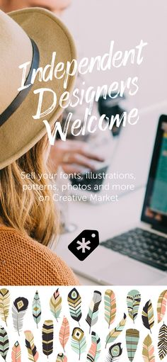 Did you know you can sell your unused client work on Creative Market? Apply today – it's simple. Just provide a few portfolio examples and tell us your intentions. We'll let you know in a matter of days.