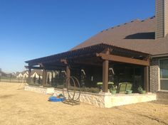 Landscaping Company, Arbors, Backyard, Outdoor Structures, Landscape, Outdoor Decor, Home Decor, Courtyards, Patio