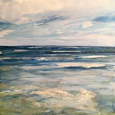 Painting by Whitney Heavey Ocean Paintings, Beach Scenes, 30 Day, Abstract, Artist, Summary, Artists, Sea Paintings, Sea Drawing