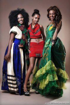 East African women.