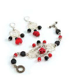 Athena's Jewels Bracelet and Earrings