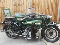 Bsa Model E 770cc v twin 1923